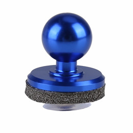 Wholesale Stick Shocking - 1pc Blue Small Size Stick Mini Game Joystick Touch Screen Mobile phone Joystick Joypad Mini Rocker For Phone Tablet Games