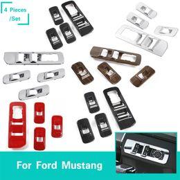 Araba Windows Asansör Anahtarı Paneli Dekorasyon Çerçeve Kapak ABS Fit Ford F150 2016 + Oto İç Aksesuar nereden