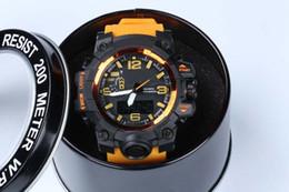 Neue stil uhren für männer online-Heiße neue Art relogio Männer Sport Uhren LED Chronograph Uhren Militäruhr Digitaluhr Männer Junge Geschenk mit Box Direktversand
