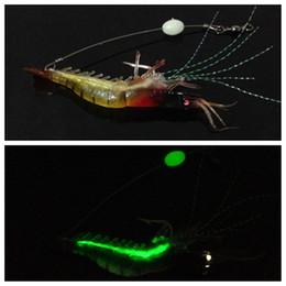 9 см 5.5 г Красная Голова световой креветки крючок рыболовные крючки рыболовные крючки мягкие приманки приманки искусственные приманки Pesca рыболовные снасти аксессуары от