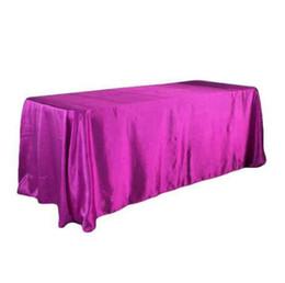 Manteaux de table en Ligne-228x335 cm décoration de mariage tache tissu de table fête d'anniversaire bébé douche festival couverture de table maison bricolage décoration nappe