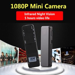 Wholesale Vision Hours - working 5 hours 1080P Infrared Night Vision Mini Camera Audio Recording Mini Camcorder with Built-in Microphone pk SQ8 SQ11