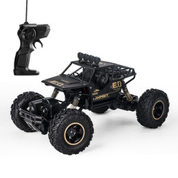 radio control trucks Promo Codes - High Quality 1:16 4WD Cars Toys 2.4G Radio Control RC Trucks Toys Buggy 2018 High speed Trucks Off-Road for Children