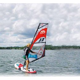 Wholesale Aqua Board - Water Sports Surfing AQUA MARINA CHAMPION sail surf board Stand up paddle board boat Surfboard wind surf sail board whole set bag A02001