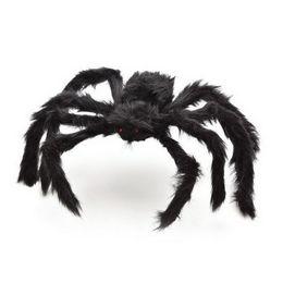 Horrible Halloween Décoration Black Spider Spider Halloween Décoration Maison hantée Prop Noir Géant 3 Taille cadeau ? partir de fabricateur