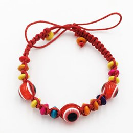 Wholesale Good Luck Bead Bracelets - Lot of 24- Evil Eye Red String Bead Bracelet Good Luck Charm Fashion Jewelry for SUCCESS Wholesale.