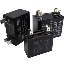 Condensateur 450VAC CBB61 5/6 / 6.5 / 7/8/10/12 / 14uF / 15uF / 16uF / 18uF / 20uF / 25uF pour les ventilateurs du climatiseur ? partir de fabricateur