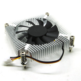 Wholesale Only Fans - Fast Free Ship Only 16mm thick 1U ultrathin 1150 1151 1155 radiator Ball bearing fan for ITX all-in-one 2700+-10% RPM fan