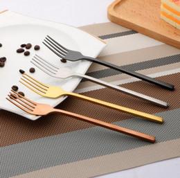 Wholesale european tea sets - 20set High Quality Gold Cutlery Scoop Fork Knife Tea Scoop Gold Stainless Steel Food Silverware Dinnerware Set Utensil free shipping