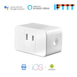 apenas inteligente Desconto SUNBOST Mini WiFi Inteligente Plug Power Alexa e Controle de Voz do Google Temporizador de Controle de Aplicativos IFTTT Ocupa Apenas Um Soquete MSS110 (JP)