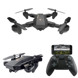 Wholesale Cameras Axis - XS809W Quadcopter Aircraft Wifi 4 Axis Altitude Hold Function RC Drone with HD 2MP Camera Drone RC Toy Foldable Drone C3846