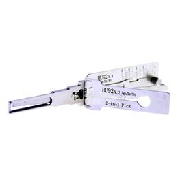 Décodeur hu92 bmw en Ligne-Original LISHI 2 en 1 HU92 3 en 1 Crochet de verrouillage pour serrure de porte et décodeur de serrure d'origine utilisé pour La nouvelle BMW, BMW Série 7