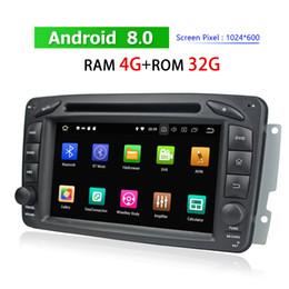 radio-dvd-laufwerk Rabatt Doppeltes Auto-DVD-Spieler für Mercedes-Benz ML CLK SLK W163 W203 W209 Bluetooth Autoradio GPS Navigation WIFI 3G 4G Autoradio