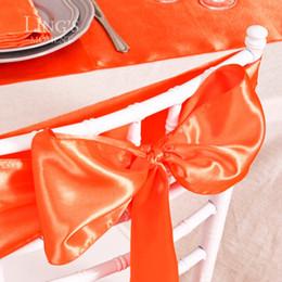 caixas alaranjadas da cadeira do casamento Desconto Atacado-50 peças 6x108