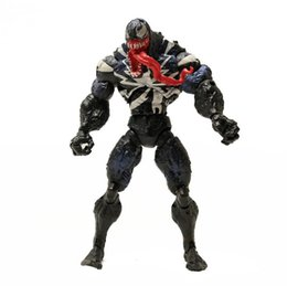 nouveaux jouets de conception Promotion 2 conception Venom Plastic Doll jouets Nouveaux enfants Avengers Jeu de dessin animé Superhero Figurines Superhero Collection Modèle 18cm KKA6135