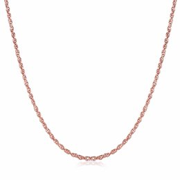 Wholesale Copper Sections - whole saleWomen's think chain 26inch 65cm long style Chains necklace golden rose gold fashion jewelry section gift pouches free