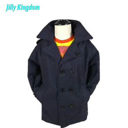 Wholesale fasion clothes - new 2017 children outerwear kids boy baby coat Retail clothing fasion winter jacket coat for Boys clothes 2~7 children clothing
