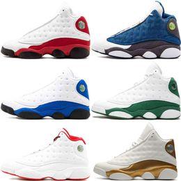 Nike Air Jordan 13S Hommes 13 Retro Chaussures de basketball Sneaker  Altitude Noir Chat Chicago Bred Infrarouge 23 DMP Hyper Royal Italie Bleu  Formateurs ... f88dfe612