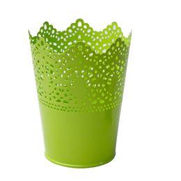 Décor à la maison de stockage fleurs panier paniers suspendus fer décor stockage panier jardin pot vases cuisine vaisselle stockage étagères ? partir de fabricateur