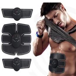 Беспроводной электронный мышечный стимулятор смарт фитнес брюшной мышцы тренер фитнес массаж тела массажер DHL бесплатная доставка от