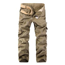 männer taktische hosen Rabatt 2018 Hot Tactical Herren Cargohose Baumwolle  Casual Männer Hosen Solid Pantalon Homme c80b6a5f5c