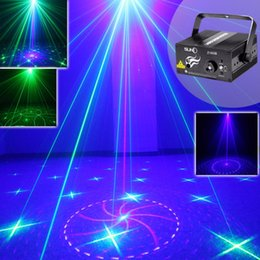 Wholesale Led Bar 18 - SUNY Laser Light GB 18 Patterns Z18GB Blue LED Stage DJ Home Party Show Karaoke Club Bar Colorful Professional Christmas Music