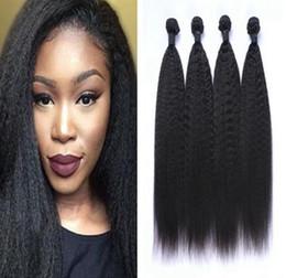 Muestras de cabello tejido virgen online-Paquete brasileño sin procesar de la virgen del pelo Ofertas Armadura del cabello humano recto Extensiones de cabello Remy Muestra de la muestra
