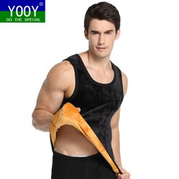 Wholesale nylon long johns - YOOY Men's Long Johns Clothes For Mens Warm Pants For Winter Thermal Underwear Men Sexy Two Piece Set Sporting Men's Clothing
