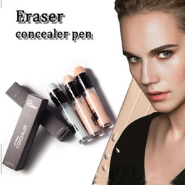 Wholesale Face Eraser - Pudaier face concealer liquid pencil eye makeup corrector cream eraser concealer pen make up corrector for face with retail box