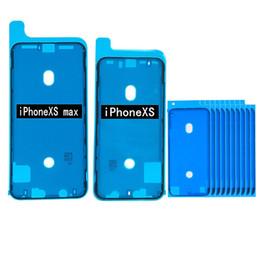 klebestreifen 3m Rabatt Bildschirm Wasserdicht Anhaftender Aufkleber für iPhone X XS XR XS Max 6S 6SP 7 7P 8G 8Plus LCD-Bildschirm Klebeband 3M Aufkleber Klebeband Streifen Tab schwarz weiß