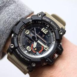 Estilo G Hombres Deportivos de Choque Relojes Cronógrafo Digital Reloj Alarma Doble Hora 50 M Watwrproof EL Light Relojes de pulsera Relogio masculino 7591 desde fabricantes