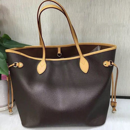 Wholesale Global Leather - 2018 Global free shipping classic luxury matching leather handbags Best quality handbag M40995 Size 32cm 29cm 17cm