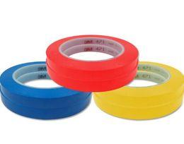 Высокое качество 471 цвет выбрать предупреждение ленты пол клей одной стороне высокая температура клейкой бумаги Ленты от