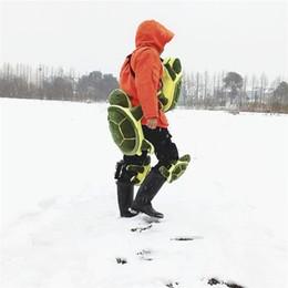 2020 almofada de hip-hop Universais Nádegas Pads Para Crianças Presaling Hip acolchoado Green Turtle esquiar patinação de proteção engrenagem Venda direta da fábrica 80Ts X almofada de hip-hop barato