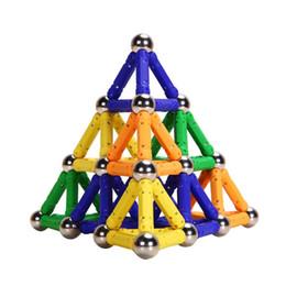 Wholesale Magnetic Toys For Kids Building - Wholesale-PlayMaty Magnetic Building Blocks Toys 100 Piece Similar Building Kit Toys Playing Magnetic Toy Bricks For Kids