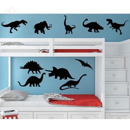 DIY Vinil Dinozor Duvar Çıkartması Sticker Çocuk Boy Odası Kreş Dekor Yatak Odası 10 Dinozorlar Ücretsiz Kargo nereden
