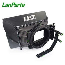 2019 dslr kamerarasche großhandel Lanparte 19 mm Kohlefaser Matte Box mit 4 * 5,65 Filterhalter