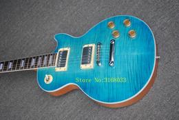 Гитара из красного дерева онлайн-Электрическая гитара с облицовкой клена пламени и шеей Mahogany, сделанными с Signiture и может быть Подгоняна