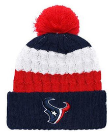 b2ffd6f9 cuffed knit hat pom NZ - Top Selling Houston beanie HOU beanie Sideline  Cold Weather Reverse