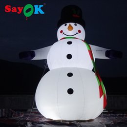 Wholesale Inflatable Outdoor Christmas Decorations - Festival Christmas Decoration Inflatable Snowmans Blow up Christmas Children Toys giant outdoor 6.5ft inflatable snowman costume