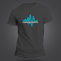 7c012595d60 MAKING WAVs (WAVES) T-SHIRT - SYNTHESIZER - STUDIO PRODUCER AUDIO ENGINEER  FUNNY T-Shirt Fashiont Shirt Free Shipping engineering t shirt for sale