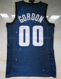 Wholesale gordon jersey - Stitched Navy Blue City 00 Aaron Gordon Jersey Top Quality Printed White Blue Aaron Gordon Jersey Men Basketball Free Shipping