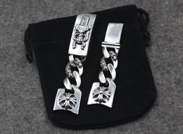 2019 relojes de acero inoxidable Ch g Luoxing marca marea espada reloj correa S925 plata esterlina cruzada reloj de flores relojes de acero inoxidable baratos