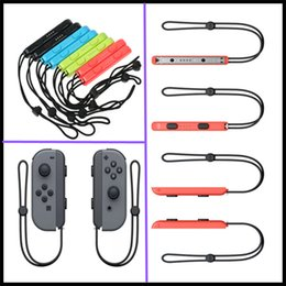 Wholesale Video Hands - 1pair=2pcs Carrying Hand Wrist Strap For Nintend Switch NS NX Portable Joy-Con Lanyard New Video Games Accessories