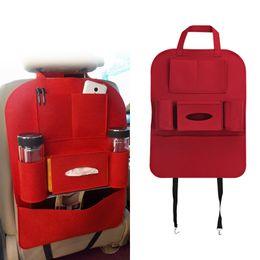 Wholesale Back Bag Kids - Car Seat Bag Storage Organizer Universal Back Seat Bags Multi Pocket Organizer Cup Food Phone Auto Accessories For Kid