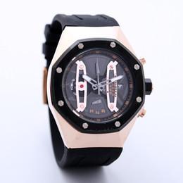 royal offshore UK - Newest arrival men luxury Royal watch rose gold case design grand dial quartz watches offshore oak relogio navitimer montre pan wristwatch