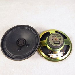 Wholesale Speaker 1w - DIY 3-inch round full-range speaker   3-inch speaker 8-ohm 1W diameter 77cm, speaker height 25mm