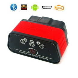 Wholesale Diagnostic Scanner For German Cars - KW903 ELM327 Bluetooth WiFi OBD2 OBDII Car Auto Fault Diagnostic Scanner Tool for Android iOS Wireless Car Code Scanner