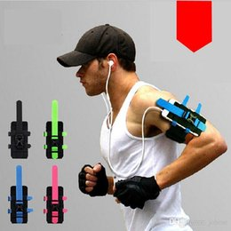 Wholesale Universal Fitness - Outdoor sports running arms package Wrist bag mobile arm arm with hang bag bag Military enthusiasts fitness with cycling