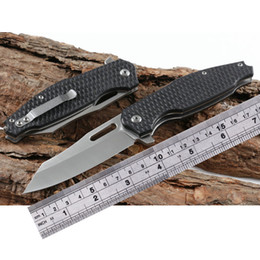 Argentina Cuchillos plegables de acero frío 440 cuchillo táctica aleta cuchillo G10 mango acampar al aire libre cuchillo de caza herramienta de bolsillo EDC envío gratis Suministro